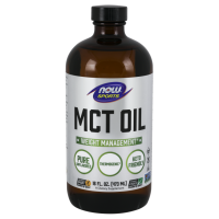 MCT Oil - Olej MCT bezzapachowy (473 ml) NOW Foods