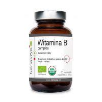 Kompleks witamin z grupy B - Orgen-B (60 kaps.) Gee Lawson