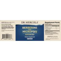 Berberyna 500mg + PQQ Pirolochinolinochinon 10 mg  (30 kaps.) Dr Mercola
