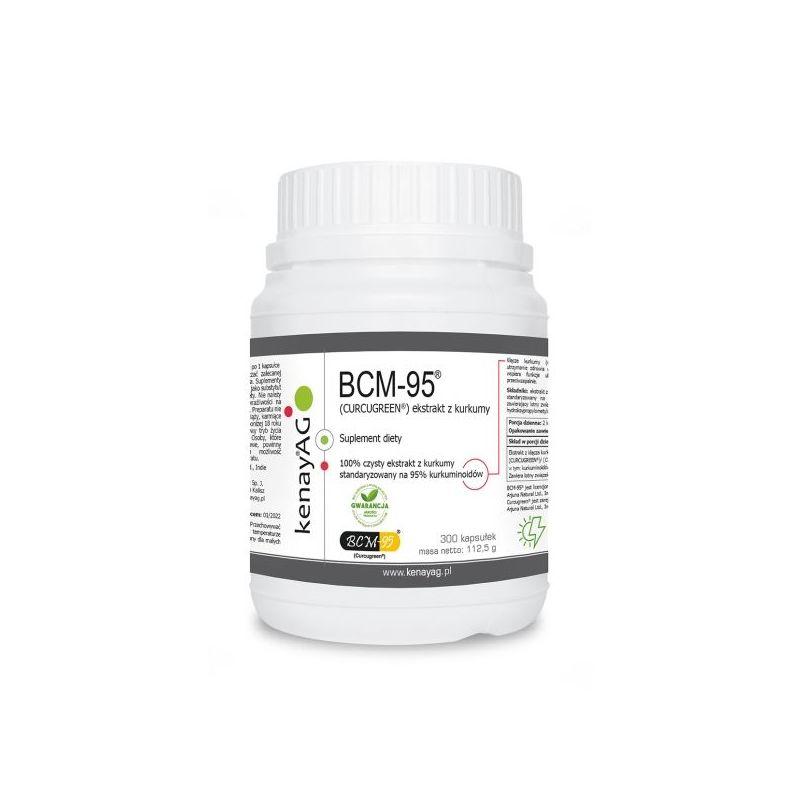 BCM-95 ekstrakt z kurkumy Curcugreen (300 kaps.) Arjuna Natural Extracts
