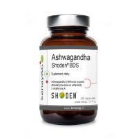 Ashwagandha Shoden BDS (60 kaps.) Arjuna Natural Extracts