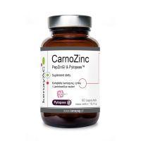 CarnoZinc PepZinGI & Pylopass - L-Karnozyna + Cynk + Lactobacillus Reuteri DSM 17648 (60 kaps.) Kenay AG