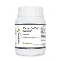 Folian 5-MTHF (aktywny kwas foliowy) Quatrefolic (300 kaps.) KenayAG