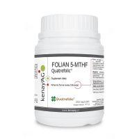 Folian 5-MTHF - aktywny Kwas Foliowy Quatrefolic 400 mcg (300 kaps.) KenayAG