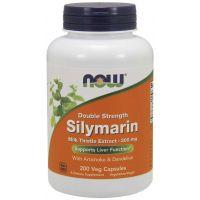 Silymarin - Sylimaryna z Ostropestu Plamistego + Dandelion Root (Mniszek) + Karczoch (200 kaps.) NOW Foods
