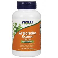 Artichoke Extract - Karczoch ekstrakt 450 mg (90 kaps.) NOW Foods