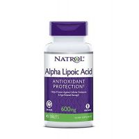 ALA - Kwas Alfa Liponowy 600 mg (45 tabl.) Natrol
