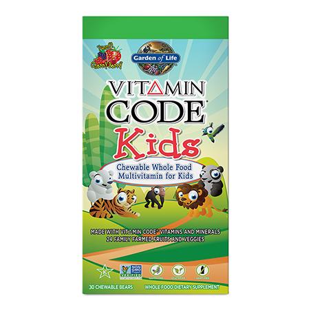 Vitamin Code Kids - Witaminy i Minerały dla Dzieci (30 żelków) Garden of Life