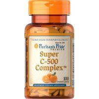 Witamina C - Super C 500 mg Complex (100 tabl.) Puritan's Pride