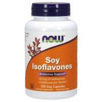 Izoflawony Sojowe standaryzowane 40% - Soy Isoflavones (120 kaps.) NOW Foods