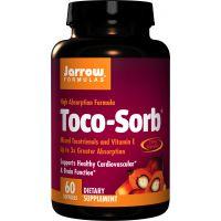 Toco-Sorb - Witamina E z mieszanką Tokotrienoli i Tokoferoli (60 kaps.) Jarrow Formulas