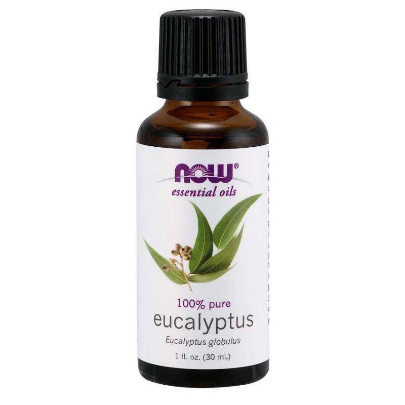 100% Olejek Eukaliptusowy - Eukaliptus (30 ml) NOW Foods