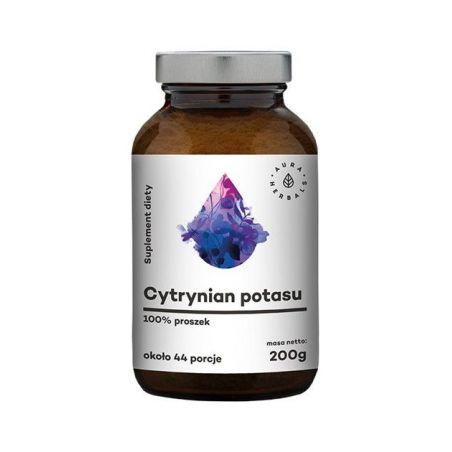 Cytrynian Potasu (potas 1600 mg) (200 g) Aura Herbals