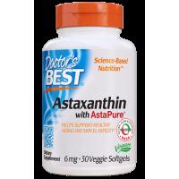 Astaksantyna 6 mg AstaPure (30 kaps.) Doctor's Best