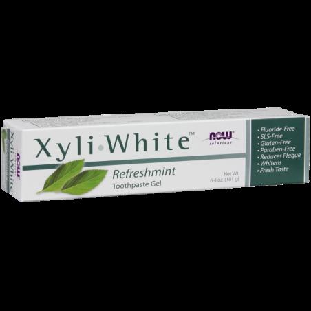 Pasta do zębów odświeżająca - XyliWhite Refreshmint Toothpaste Gel (181 g) NOW Foods