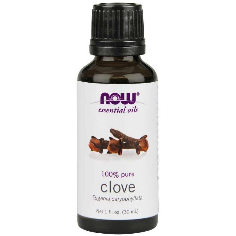 100% Olejek Goździkowy - (Clove) Goździki (30 ml) NOW Foods
