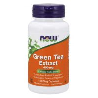 Green Tea Extract - Zielona Herbata ekstrakt 400 mg (100 kaps.) NOW Foods