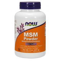 Siarka MSM - Metylosulfonylometan (227 g) NOW Foods