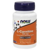 L-Karnityna Carnipure 500 mg (30 kaps.) NOW Foods