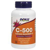 Buforowana Witamina C + Wapń + Bioflawonoidy Cytrusowe (100 kaps.) NOW Foods