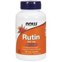 Rutyna 450 mg (100 kaps.) NOW Foods