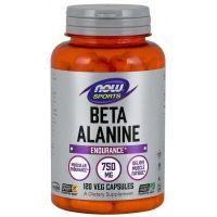 CarnoSyn Beta Alanina 750 mg (120 kaps.) NOW Foods