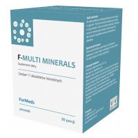 F-Multi Minerals - 11 Składników Mineralnych (212,4 g) ForMeds