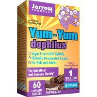 Probiotyk Yum-Yum Dophilus do żucia (60 tabl.) Jarrow Formulas