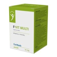 F-Vit Multi - Kompleks 12 Witamin i 8 Minerałów (47,75 g) ForMeds