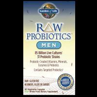 RAW Probiotics Men - Probiotyk dla Mężczyzn (90 kaps.) Garden of Life