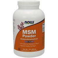 Siarka MSM - Metylosulfonylometan (454 g) NOW Foods