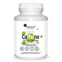 Caffeine - Kofeina 200 mg + Guarana (100 kaps.) Aliness