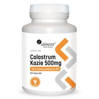 Colostrum Kozie 500 mg (100 kaps.) Aliness