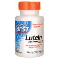 Luteina 20 mg i Zeaksantyna 1 mg (60 kaps.) Doctor's Best