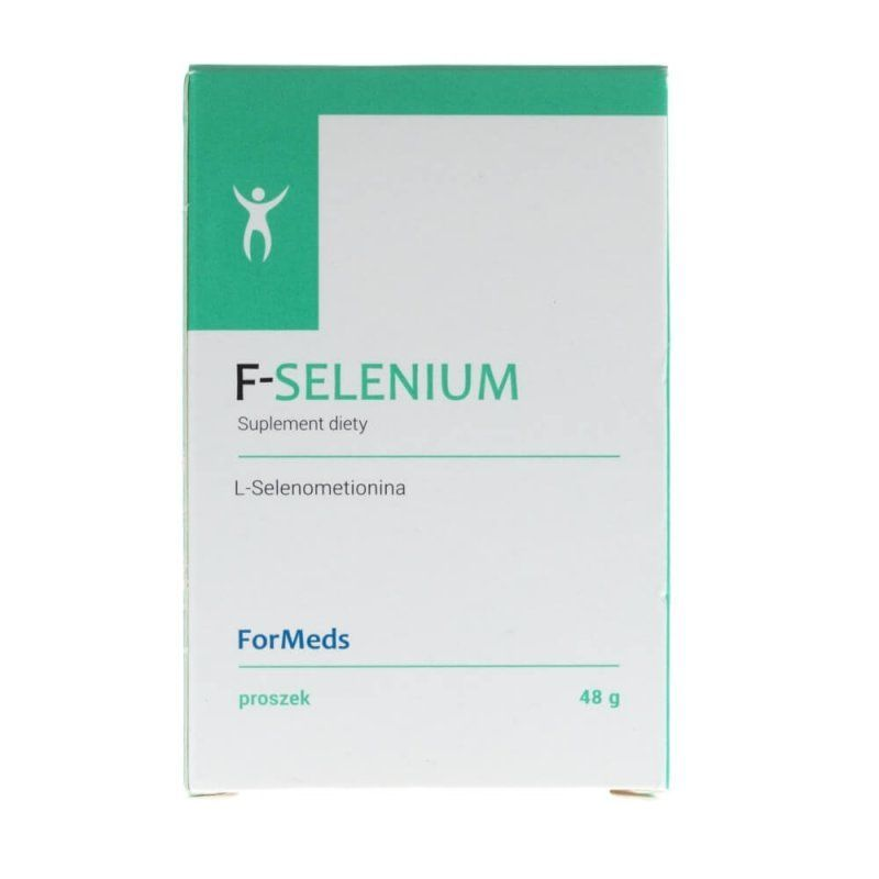F-Selenium - Selen (L-Selenometionina) i Inulina (48 g) ForMeds