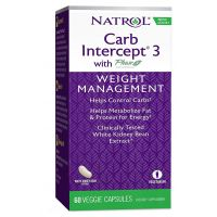 Carb Intercept 3 with Phase 2 Weight Management - Zarządzaj Wagą (60 kaps.) Natrol