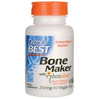 Bone Maker with Bonolive 250 mg - Liść Oliwny 40% Oleuropeiny (60 kaps.) Doctor's Best
