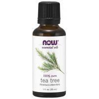 100% Olejek z Drzewa Herbacianego (Tea Tree) - Drzewo Herbaciane (30 ml) NOW Foods