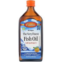 The Very Finest Fish Oil - Omega 3 o smaku pomarańczowym (500 ml) Carlson