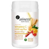 Buforowana Witamina C 100 mg Plus (250 g) Aliness
