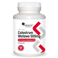 Colostrum Wołowe 500 mg (100 kaps.) Aliness