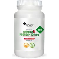 Koenzym Q10 - Ubichinon 100 mg (100 kaps.) Aliness