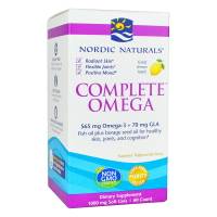 Complete Omega - Omega 3 + GLA o smaku cytrynowym (60 kaps.) Nordic Naturals