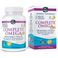 Complete Omega Xtra - Omega 3 + GLA o smaku cytrynowym (60 kaps.) Nordic Naturals