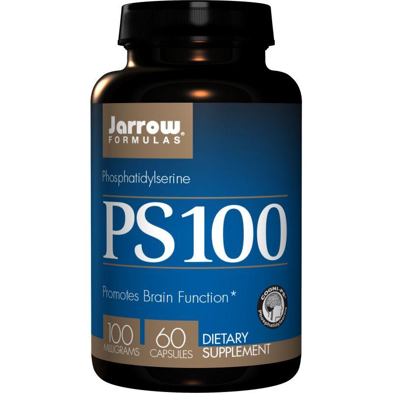 PS100 - Fosfatydyloseryna 100 mg (60 kaps.) Jarrow Formulas