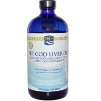 Zwierzęta - Pet Cod Liver Oil - Arktyczny olej z wątroby dorsza (473 ml) Nordic Naturals