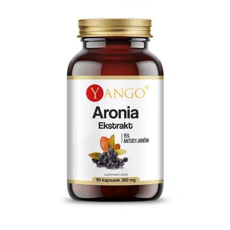 Aronia 380 mg - Antocyjany 15% (90 kaps.) Yango