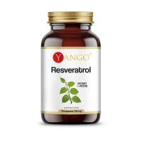 Resveratrol standaryzowany z Piperyną (30 kaps.) Yango
