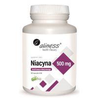 Witamina B3 - Niacyna 500 mg (100 kaps.) Aliness