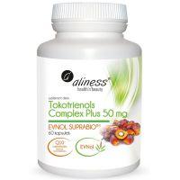 Tokotrienols Complex Plus 50 mg EVNol SupraBio - Witamina E (60 kaps.) Aliness
